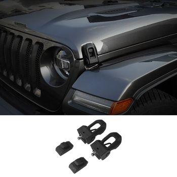 2018 2019 Jeep Wrangler JL OEM оригинальная защелка из нержавеющей стали защелка капота комплект для Jeep Wrangler JK JL