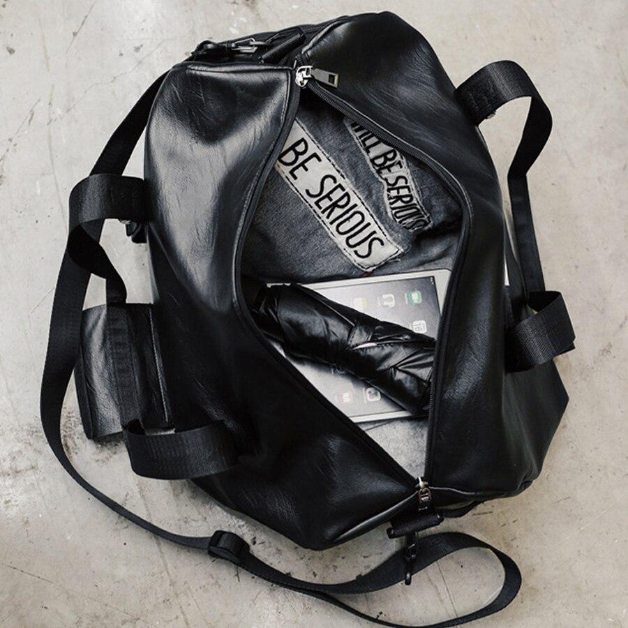Sport Tasche Frauen Männer Fitness Gym Tasche Leder Schuh Fach Damen Mädchen Kleine Große Große Outdoor Travel Training Tenis Handtasche | Spargut