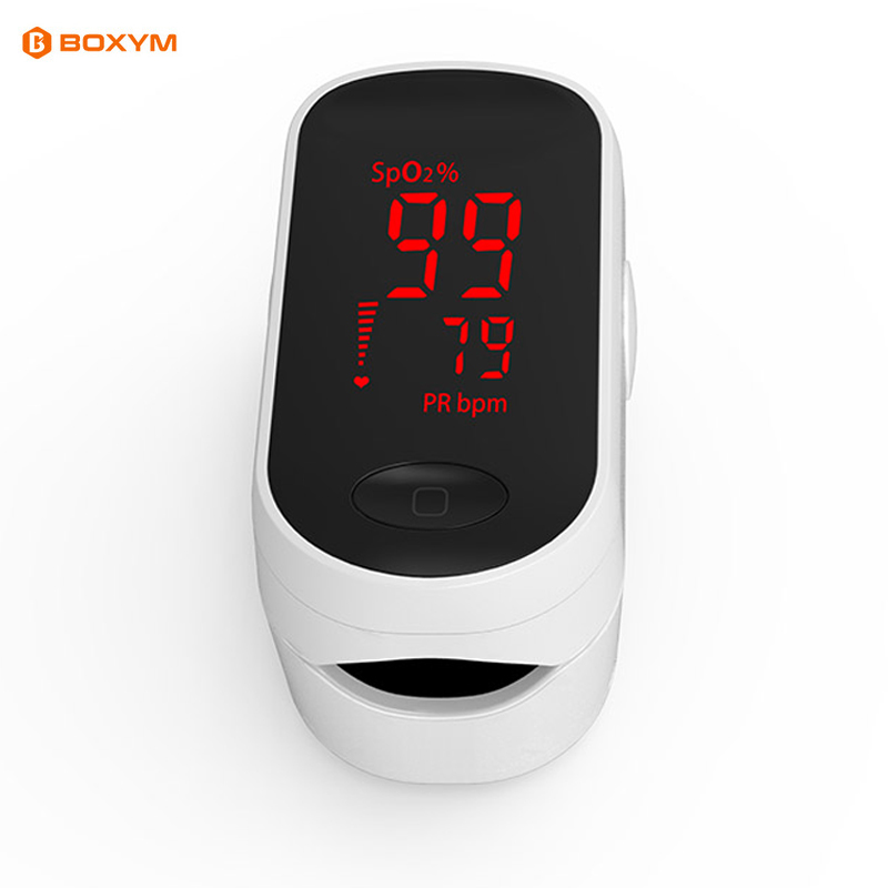 Medical Fingertip pulse Oximeter Blood Oxygen saturatie Saturation Meter Finger SPO2 PR Monitor saturometro saturador de oxigeno image