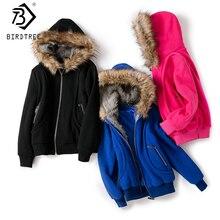 Поставка с фабрики, женское большое меховое пальто с капюшоном, парки, верхняя одежда, зимняя утепленная куртка, толстовка, женская одежда, брендовая стильная C6N184Y