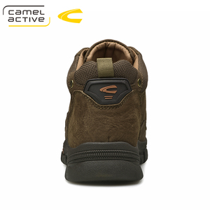 Image 5 - Camel Active New Super Warm Men Winter Boots for Men Warm Waterproof Cow Leather Boots Shoes 2018 New Mens Ankle Snow Boos