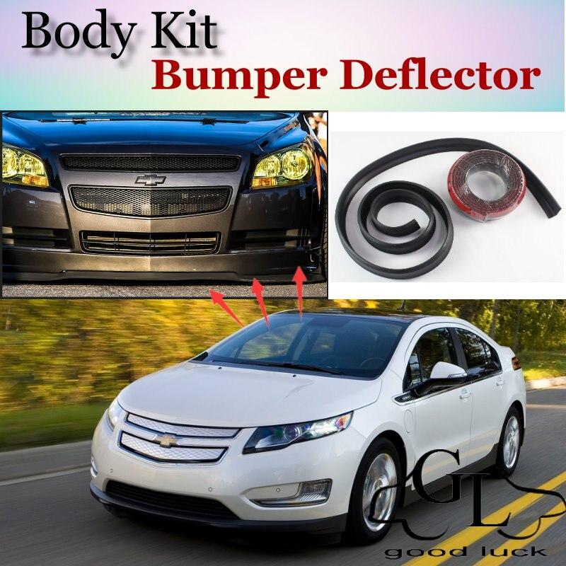 Bumper Lip Lips For Chevrolet Volt 2011~2015 / Car Lip Shop Spoiler / Recommend Body Kit / Car Scratch Proof Adhesive Strip