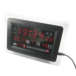 Image 2 - ECL 1227 0.5 นิ้วสีแดงสีเขียวสีฟ้า DIY นาฬิกาอิเล็กทรอนิกส์ชุด DIY ปฏิทินอุณหภูมิ Bab จอแสดงผล DIY นาฬิกาอิเล็กทรอนิกส์