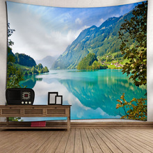 3D Printing Tapestry Wall Hanging Polyester Fabric Decorative Tapestries Landscape Printed Mandala Hippie