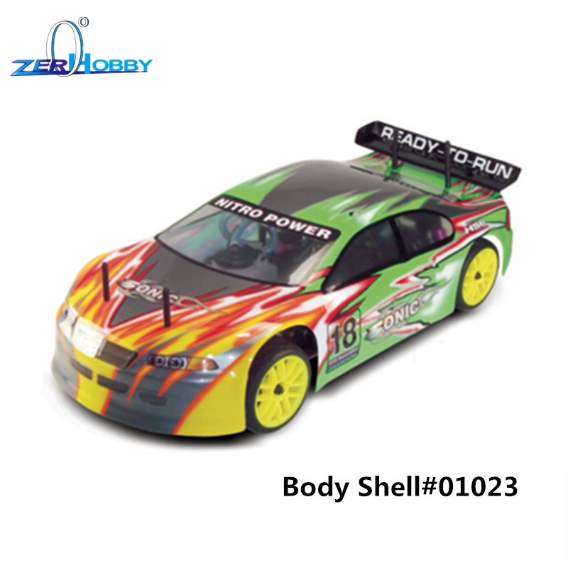 HSP RACING RC CAR SONIC 94102 1/10 SCALE 4WD ON-ROAD NITRO POWER ŠPORT RALLY RACING 18CXP MOTOR DVOJITÁ OTÁČKA