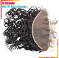 "8A Brazilian Lace Frontals 13""*6"" Natural Colour Hair Brazilian Frontals Unprocessed Virgin Human Hair Closure Free Shipping"