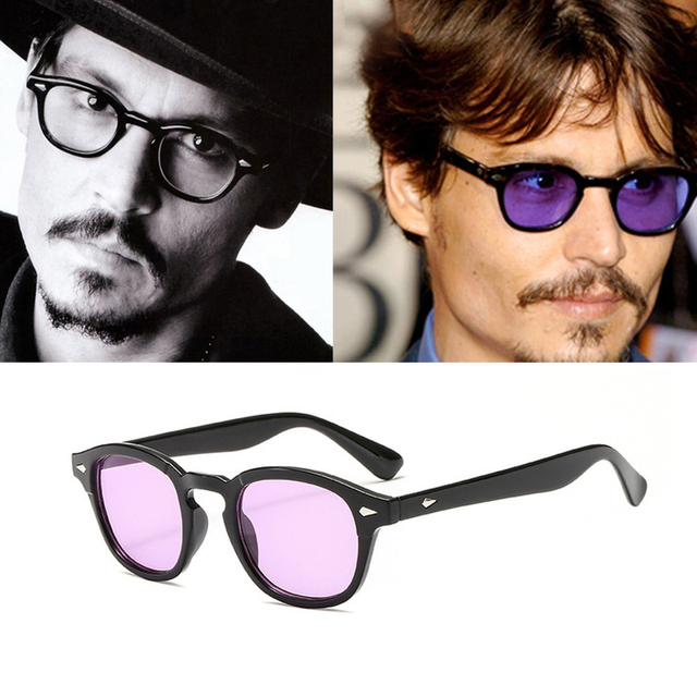 342dabe0b0c GUVIVI Vintage Round Sunglasses Men 2018 New Classic Brand Designer Clear  Lens Sun Glasses Female Male Eyewear Women Shade UV400