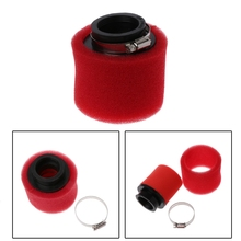 AIR-FILTER Cleaner Scooter Moped Motorcycle Sponge Bike Straight-Neck-Sponge Red Dirt-Pit