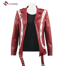 Ready Player One Cosplay Costume Art3mis Samantha Jacket Red Leather Coat CosDaddy