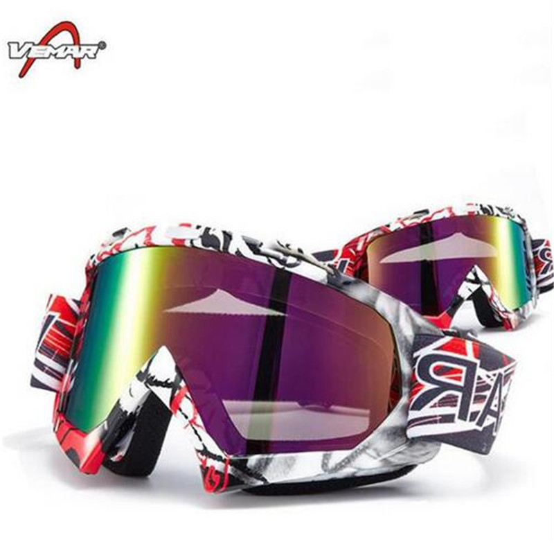 Motorcycle Motocross Dirt Bike Off-Road Riding Goggles Windproof Anti-UV Snowboard Ski Downhill Skate Glasses Eyewear