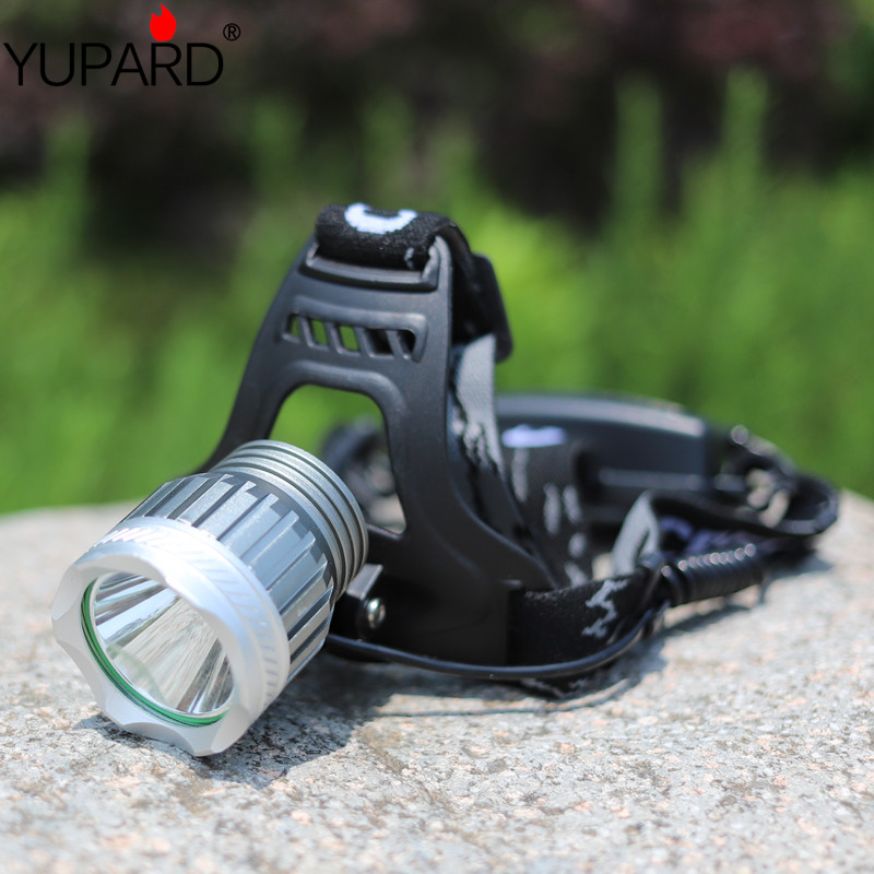 YUPARD XM-L2 LED Headlamp Rechargeable Headlight T6 LED 18650 rechargeable battery camping fishing outdoor sport hunting