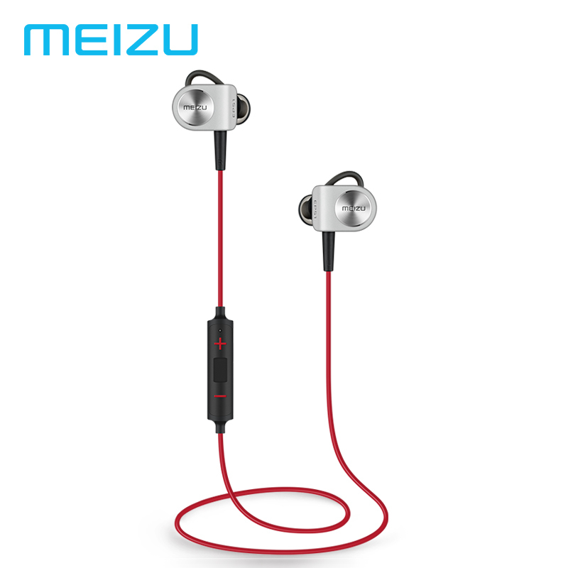 D'origine MEIZU EP51 casque bluetooth écouteurs de sport pour téléphone Ordinateur écouteurs sans fil De Sport APT-X Avec MIC alliage d'aluminium