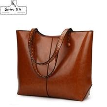Large Capacity Casual Tote Bags 2018 Genuine Leather Women Handbags High Quality Multi-functional Lady Retro Bag Mochila Bolsas