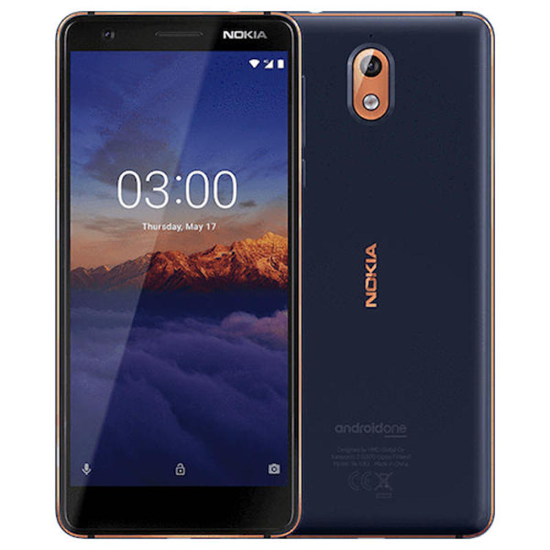 Global Version Nokia 3.1  Android Mobile Phone 5.2 Inch HD+ 18:9 Ratio 2GB 16GB MT6750N Octa-Core 2990mAh 4G LTE Smartphone