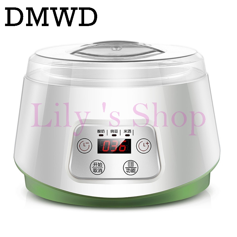 все цены на Electric yogurt maker with 4 cups Automatic Yoghurt rice wine Machine Buttermilk Sour Cream natto Making Machine 1.3L EU US plug