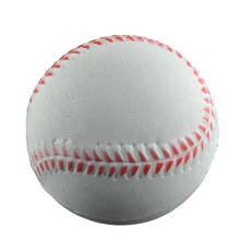 Baseball Shaped Hand Wrist Exercise Stress Relief Squeeze Soft Foam Ball(China)
