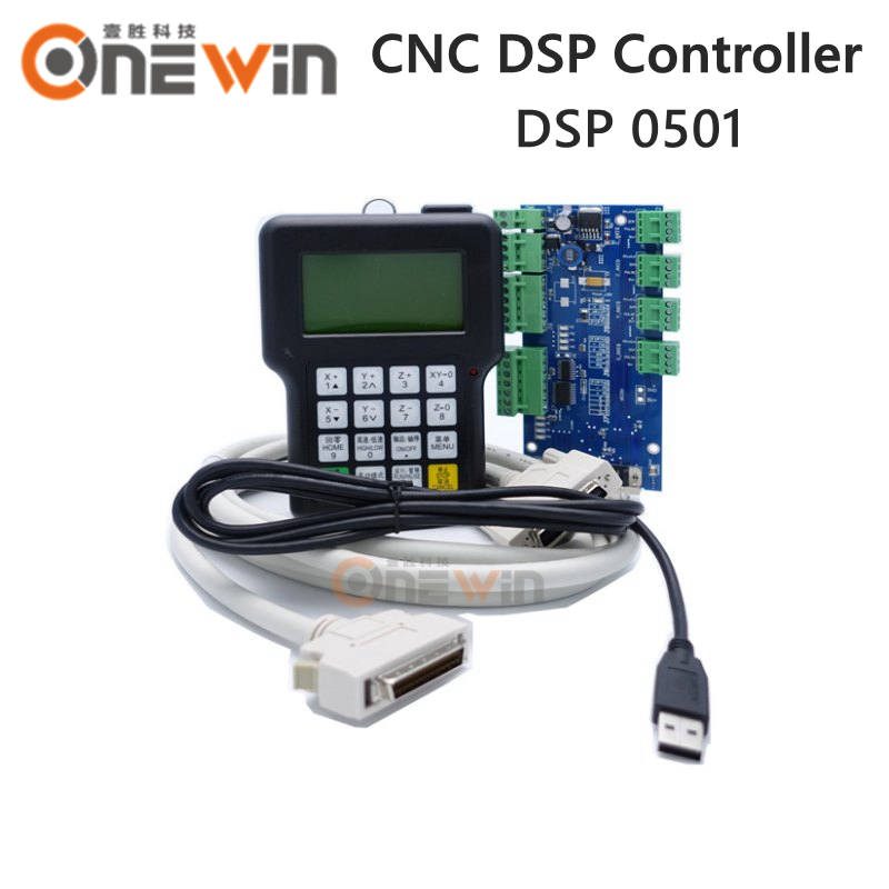 3 Axis 0501 CNC DSP Controller USB Control System English Version