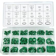 270 шт 18 размеров кондиционер HNBR уплотнительные кольца Инструменты для ремонта автомобиля резиновое кольцо хладагента кондиционера Наборы инструментов для автомобиля