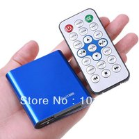 Free Shipping Mini1080p MINI Full HD 1080P HDMI HDD Multi Media Player With SD MMC Support
