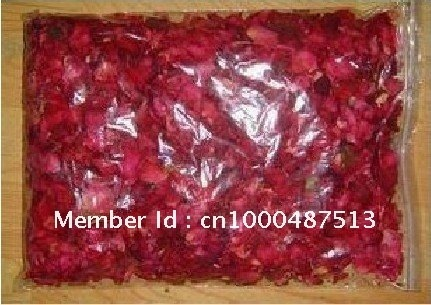 Freeshipping Nail supplies Makeup Dry Rose Petals - Petals Bath / Shower Dry Rose Petals / 400G Cosmetics Skin care