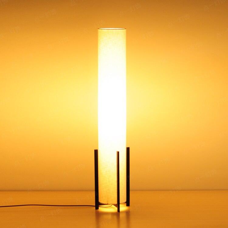 Moderne minimaliste lampadaire salon salle d'étude chambre lampe de chevet fer art tissu personnalité lampe de bureau ZA628 ZL35