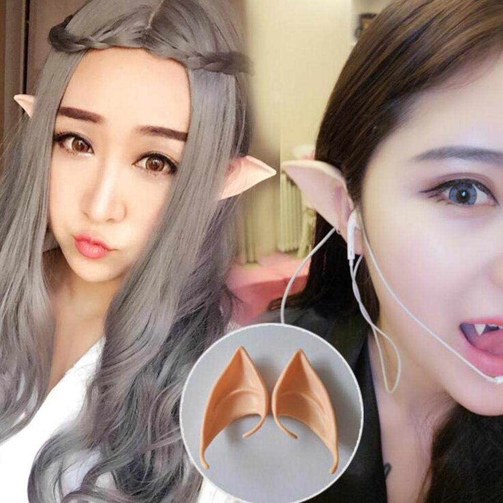 MISSKY 1 Pair Unique Spirit Fake Ears for Halloween Cospaly Party Fancy Dress Ball Gift san0