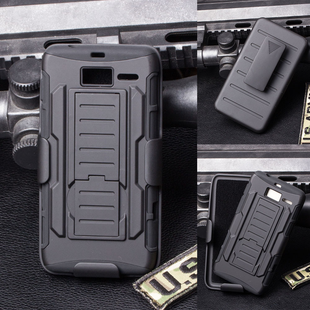 motorola 4g case. future impact holster belt clip hybrid hard case for motorola droid razr i xt890 / m 4g