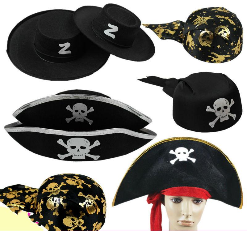 3pcs / lot Halloween party pribor Pirati s Kariba kapa kapetan - Za blagdane i zabave - Foto 1