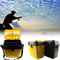 Fishing Tackle Box 2Color Carp Fishing Box Lightweight For Fish Lure Line Hook Fishing Accessories