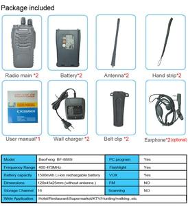 Image 5 - Baofeng Walkie Talkie BF 888S estación de radio portátil BF888s, 5W, BF 888S, transmisor, transmisor, conjunto de radio