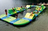 (China Guangzhou) manufacturers,Inflatable Water rock climbing,Inflatable water seesaw COB 480