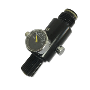 Image 1 - AC961 Acecare Outsports PCP HPA 4500Psi Paintball Tank Regler Für Mini Gas Zylinder Jagd Air Gun Pcp Ventil Verwendet Paintball