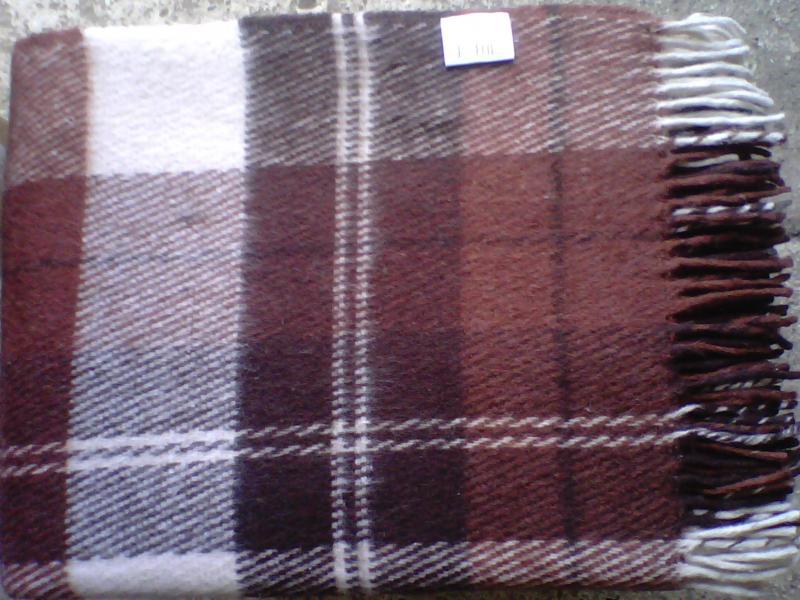 Plaid VLADI, Elf, 140*200 cm, Brown multi function check plaid pattern cashmere warm keep scarf light brown