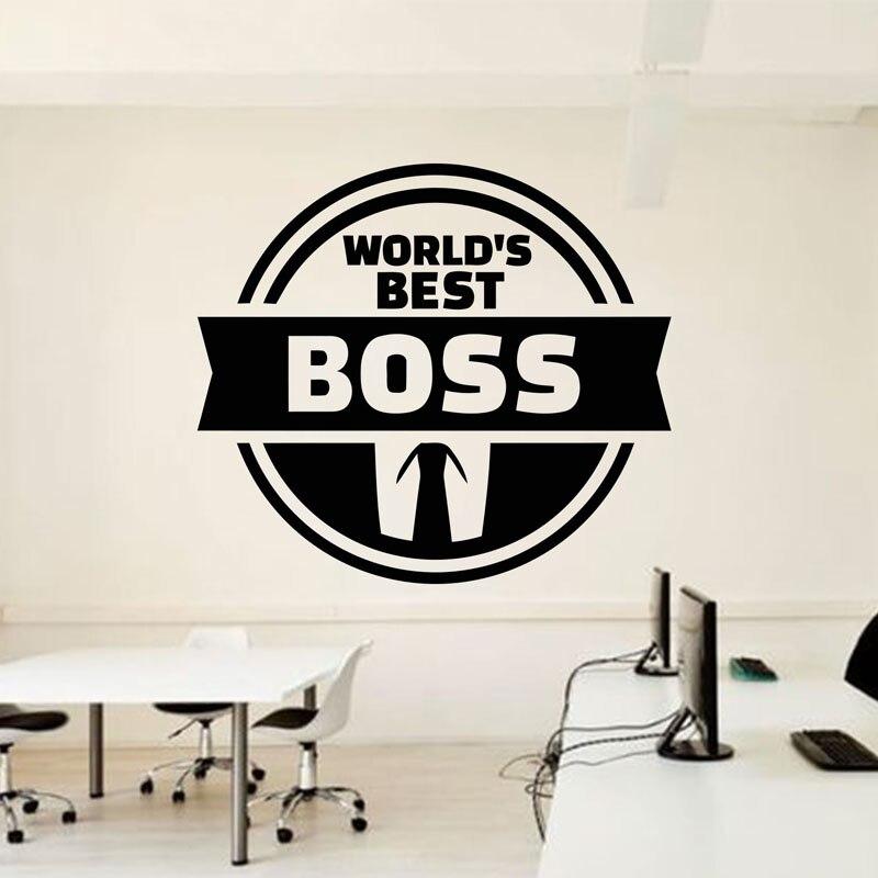 Buro Zitieren Welt Der Beste Boss Inspire Buro Dekoration Motivation
