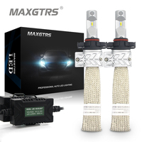 2x PSX24W PSX26W P13W 8000LM For Lumileds Chip High Low Beam White Car Fog DRL Light Source Driving Bulbs Car LED Headlight