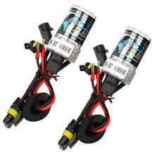 2 шт./компл. Водонепроницаемый DRL 35 Вт 6000 К фар автомобиля фара H7 лампы ксеноновые автомобиля укладки