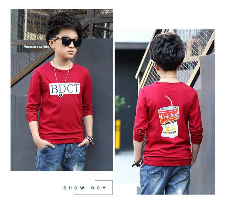 fashion casual pink green black striped o-neck t shirt for boys long sleeve t shirt kids boy tee tops clothes new 2017 spring autumn teenage boys clothing 6 7 8 9 10 11 12 13 14 15 16 years old little teenage big boys t shirt long sleeve (10)