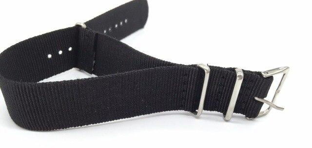 1pcs Zulu NATO Watch band 18 20 22 24 mm Army khaki Military nato fabric Woven Nylon watch Strap Band Buckle belt Accessor