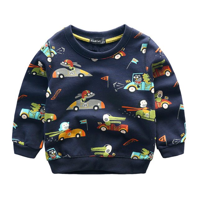 boy t-shirt baby clothes long sleeve spring 2017
