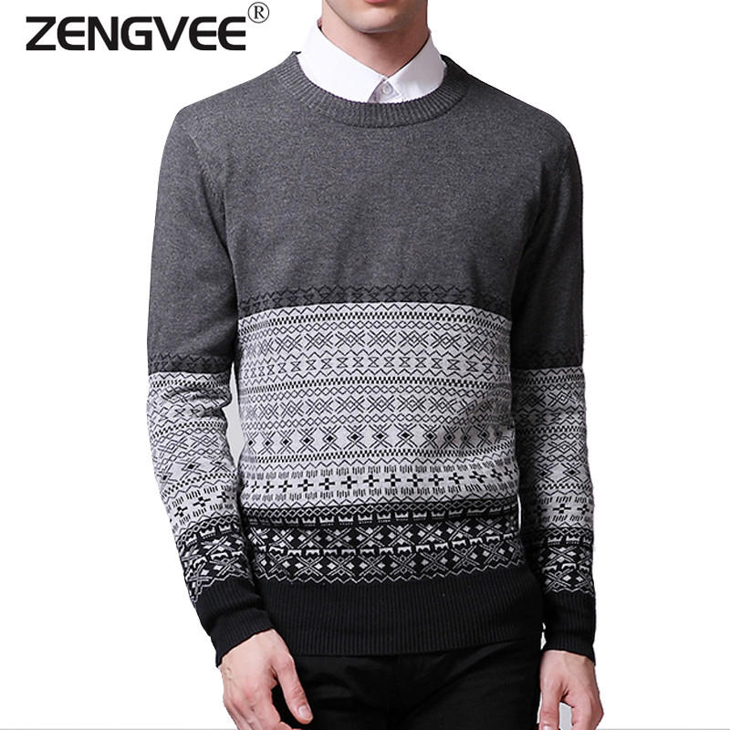 Sweater men clothing mens sweaters knit wool cashmere for Mens red wool shirt