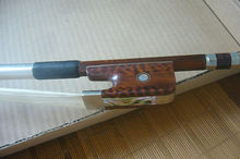 1PC Strong Balanced Snakewood Double Bass Bow French Style 3 4