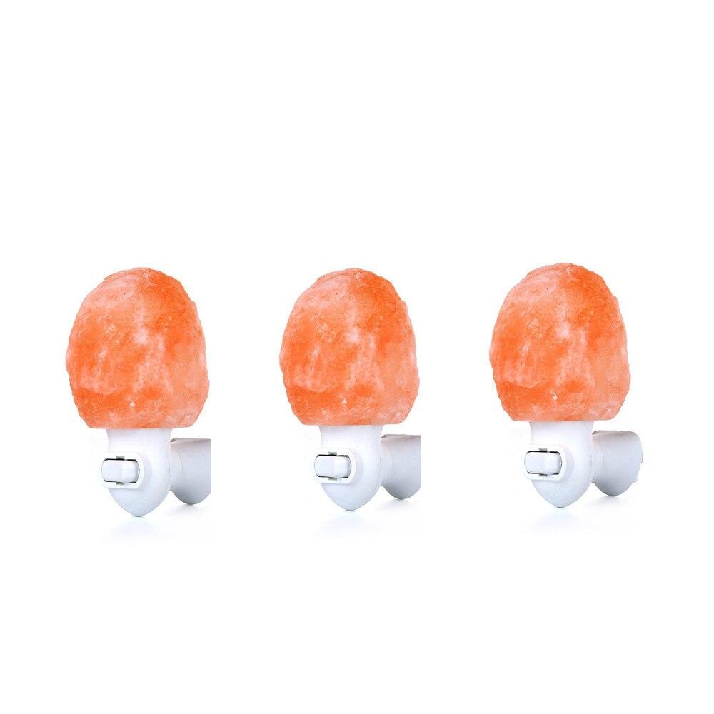 15W Natural Crystal Himalayan Salt Lamp Air Purifier Crystal Salt Rock Bedside Night Light for Bedroom with EU/US/UK/AU Plug