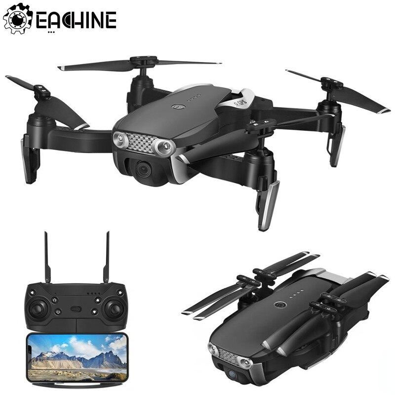 Eachine E511S gps динамический следовать Wi Fi FPV системы с 1080 P камера 16 минут время полета Радиоуправляемый Дрон Quadcopter 5 г 1080 три батареи
