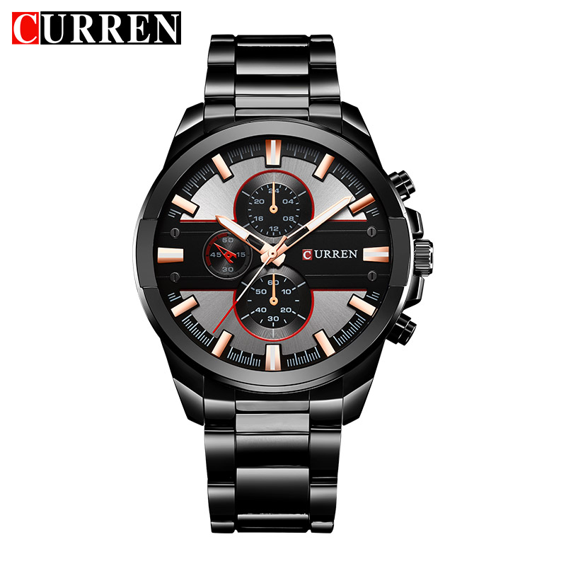 CURREN 8274 Quartz Man Watch Men Watches Top Brand Luxury Famous Stainless Steel Men Male Clock Wristwatch Hodinky Sport Clock chenxi men gold watch male stainless steel quartz golden men s wristwatches for man top brand luxury quartz watches gift clock