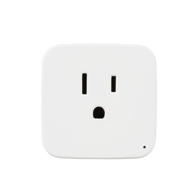 US Standard 2.4G WiFi Smart Plug Smart Home Socket Outlet for Amazon Alexa Voice Timing Function App Remote Control AC 100-250V lemaic wifi smart socket t support amazon w app alexa voice control remote control timing function for ac 110 240v us plug