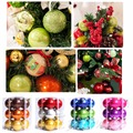 12Pack 4cm Christmas Tree Xmas Balls Decorations Baubles Party Wedding Ornament
