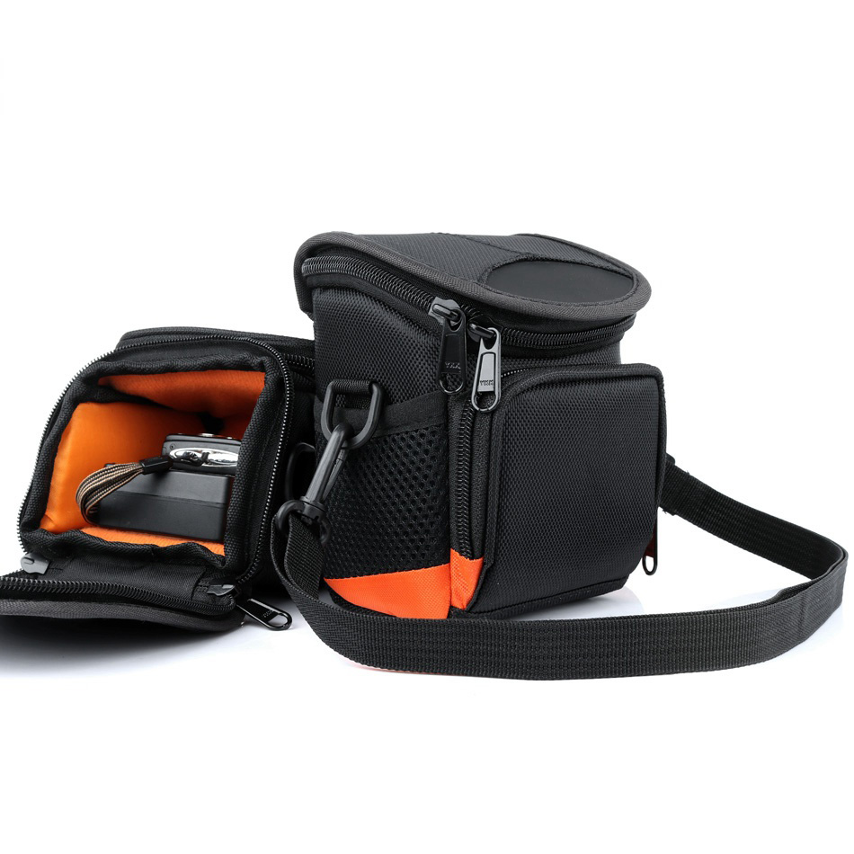 Digital Camera <font><b>Bag</b></font> For Panasonic <font><b>LUMIX</b></font> <font><b>LX100</b></font> LX10 GF9 GF8 ZS60 Samsung Fujifilm Sony Canon Camera Nikon <font><b>Bag</b></font> Shoulder Mini Case image
