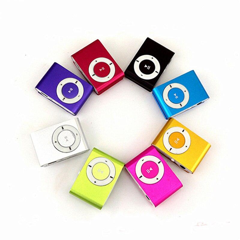 נייד MP3 נגן מיני קליפ MP3 נגן עם TF חריץ שקע נחמד צליל הטוב ביותר מתנה עמיד למים ספורט MP3 מוסיקה נגן ווקמן MP3