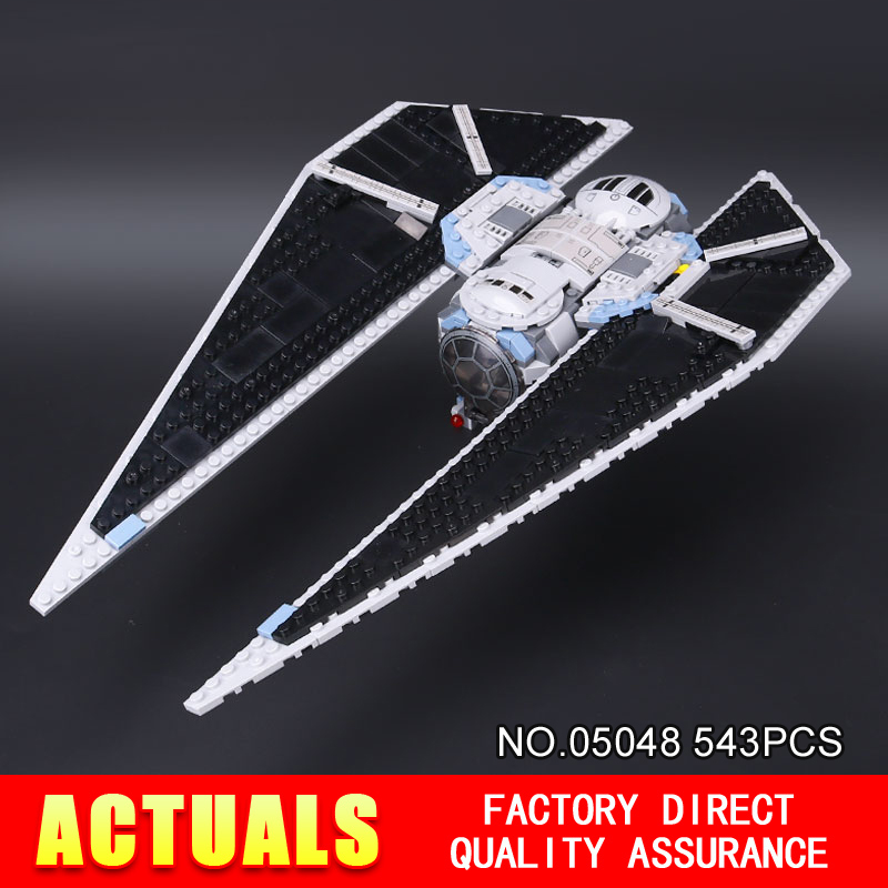 ФОТО New Lepin 05048 543Pcs Star War Seiers The TIE Striker Building Blocks Bricks  Toys Compatible with 75154 Gift