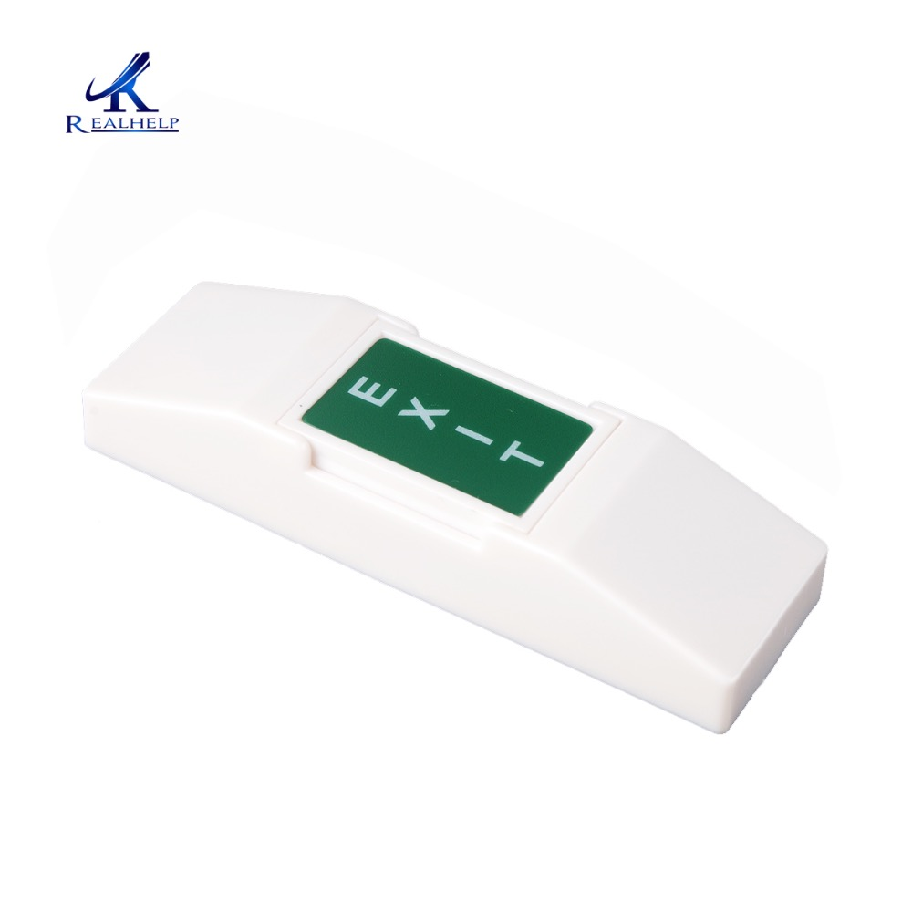 Button Switch In Electrical Equipment Supplies Plastic Door Opener  For RFID Smart Card Reader Standalone Access System